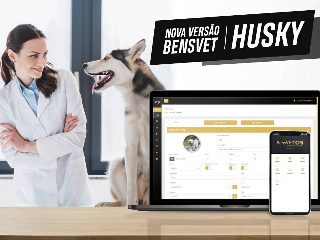 É com muito entusiasmo que apresentamos a grande novidade do BensVET 2: A versão Husky.  Sim, essa versão foi batizada com o nome Husky! Isso porque a raça canina é facilmente…